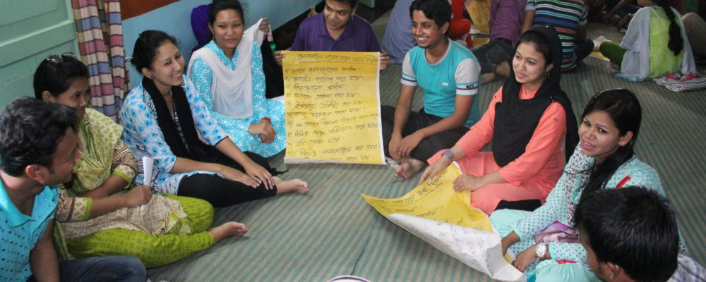 Peace Awareness Workshop with Young Students